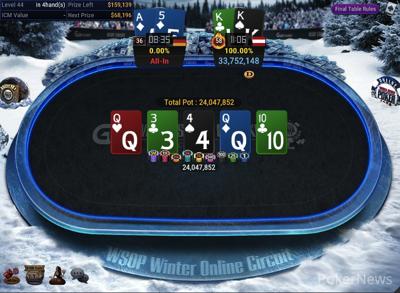 iordof513 выиграл турнир с глубоким стеком.