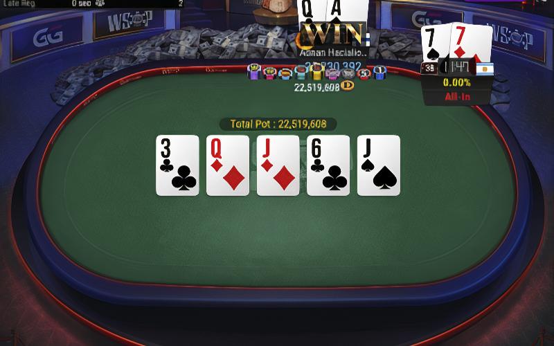 Результаты турнира #78 WSOP Online на GGPoker с бай-ином 1 000 долларов