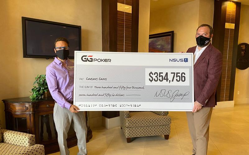 Более 350 000 долларов пожертвовано игроками в покер на GGPoker в фонд помощи Caesars Cares Relief