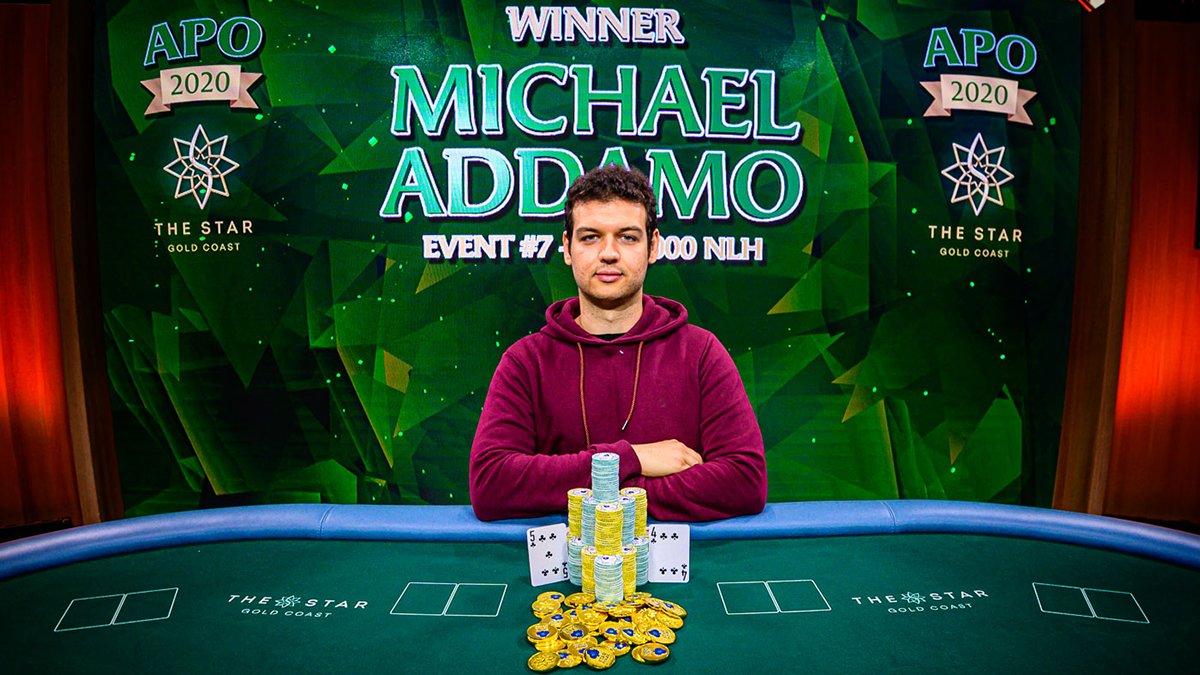 Майкл Аддамо выиграл турнир GGPokerOK